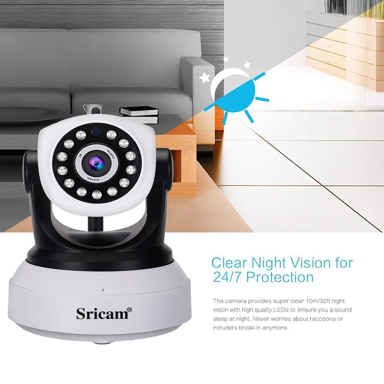 Camera 1080p Sans WifiP2p FilIp Et Surveillance Haut De Wifi Sricam Avec Microphone Caméra vision Sp017 Parleur YI76ybmgvf