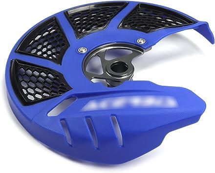 White Front Brake Disc Guard Case Cover Protector Yamaha YZ125 YZ250 YZ250F YZ450F YZ125X YZ250X WR250F WR450F