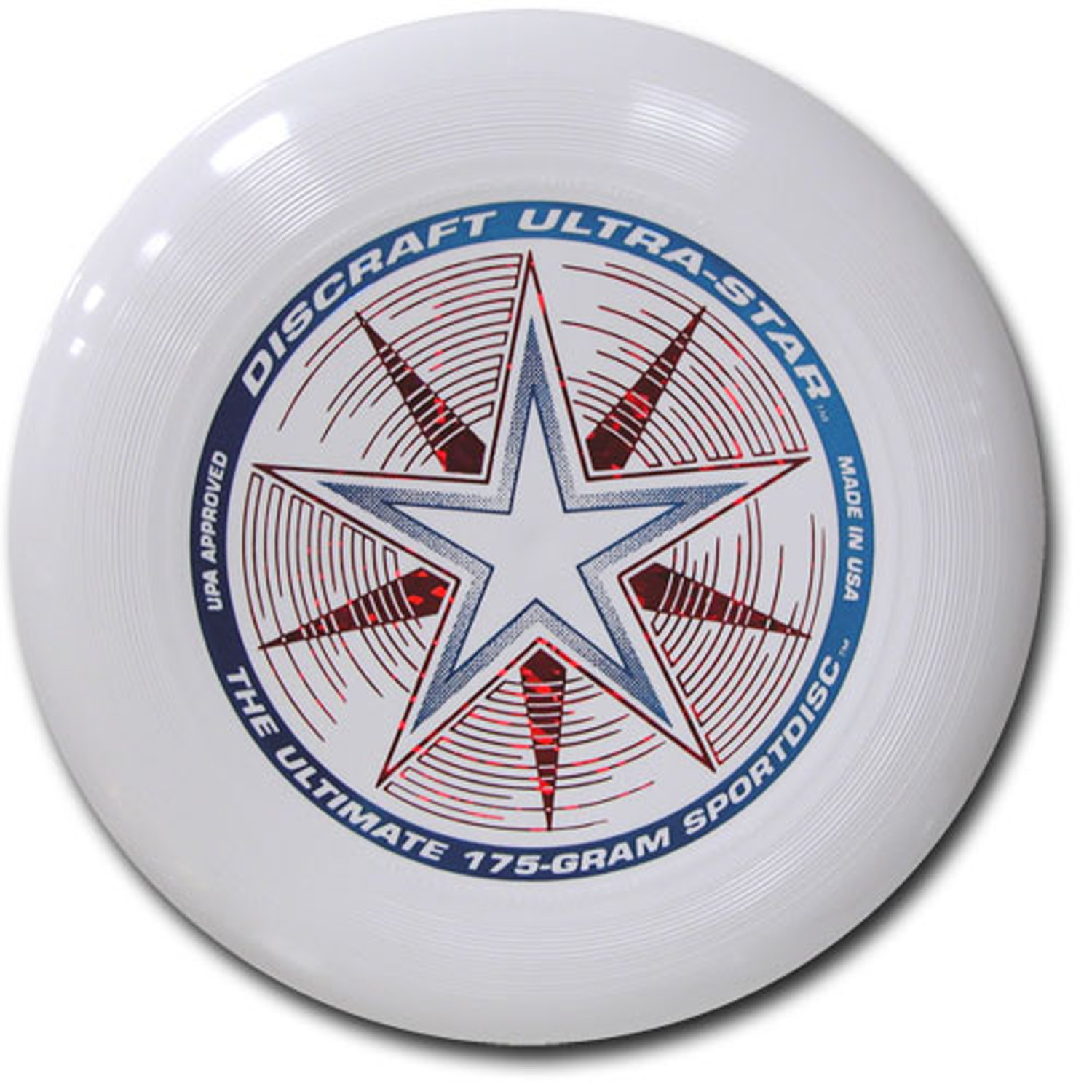 Discraft 175g Ultimate Disc Bundle (3 Discs) Red, White & Pink by Discraft (Image #3)