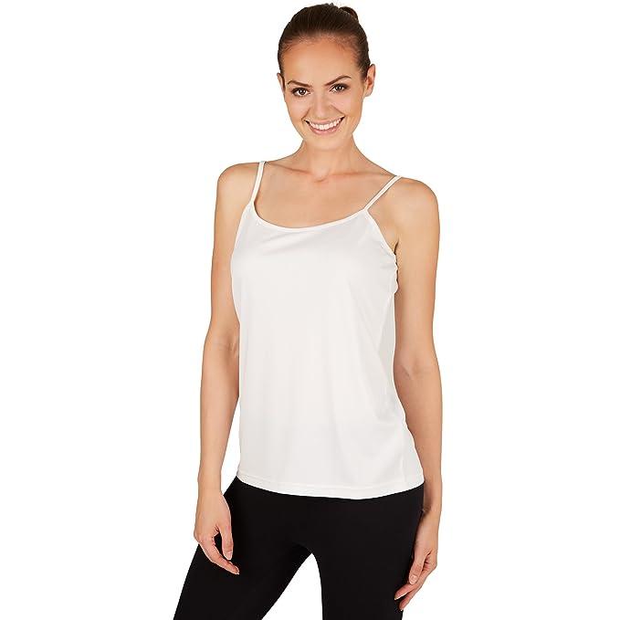 dressforfun Camisetas sin Mangas para Mujer | Adecuado como Top o Camisa Interior tamaños (L