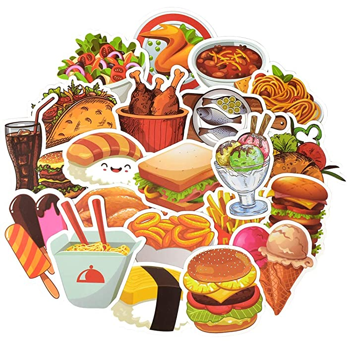 Top 10 Food Truck Vinyl Dessert Decals