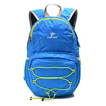 1b5cde7f5503 Tofine Kids Backpack Shopping Portable Leisure Travel Bag Folding  Waterproof Daypack Convenient Outdoor Sports 12L