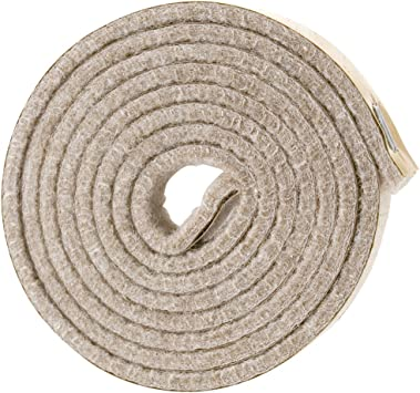 EZ Glide Peel Stick Surface Floor Protectors Circle Strip Pad Roll Made in USA!