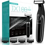 VOGOE Beard Trimmer for Men Full Body Electric Trimmer and Shaver Cordless Hair Clippers Professional Hair Razors for…