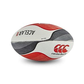 Canterbury Acelar Pelota de Rugby, tamaño Mini, Color Flag Red ...