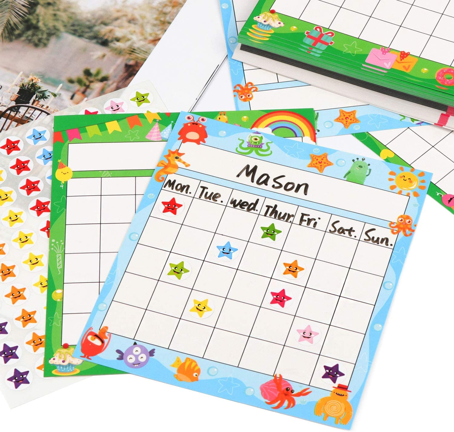 Incentive chart pack