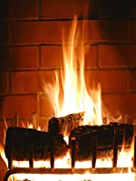 Fireplace video HD for TV ★ Virtual fireplace screen ★ Crackling logs ★ 2 hours