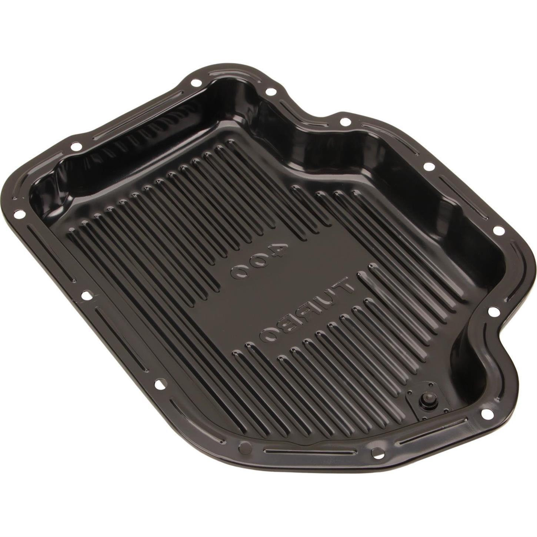 Black Steel GM TH-400 Transmission Pan 1-7//8 Inch Deep