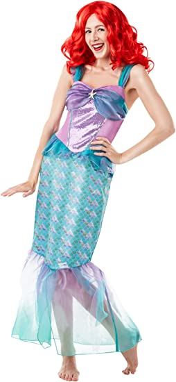 Rubies s oficial Disney princesa Ariel de la Sirenita disfraz ...