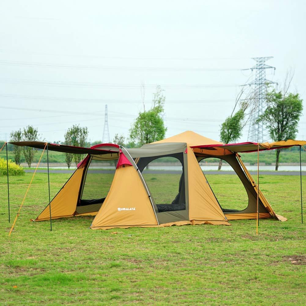 HHMGYH Outdoor-Zelt, Outdoor-Zelt, Outdoor-Zelt, 3 5 Personen automatisches Doppel-Layerot Instant Beach Zelt mit Fenster für Familie Outdoor Beach Camping Camping Camping Zelt B07PNM1BSC Wurfzelte Klassischer Stil 2e3ad7
