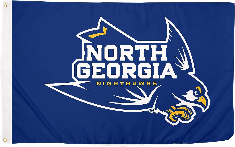 Flag 3a Desert Cactus University of North Georgia UNG Nighthawks NCAA 100/% Polyester Indoor Outdoor 3 feet x 5 feet Flag