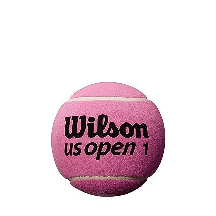 Wilson US Open Mini Jumbo – Pelota de Tenis, Color Rosa: Amazon.es ...