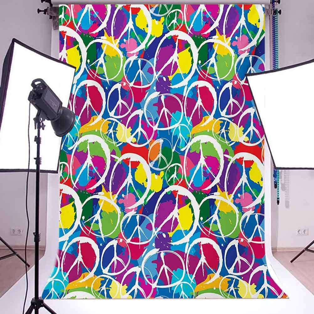 8x10 FT Backdrop Photographers,Seagulls in Flight Facing Different Positions Simplistic Cartoon Drawings Background for Kid Baby Boy Girl Artistic Portrait Photo Shoot Studio Props Video Drape