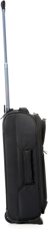 pour Ryanair Easyjet Aerolite Bagage Cabine Bagage /à Main Valise Souple L/égere /à 2 Roulettes Noir Air France Monarch et Plus Lufthansa Jet2