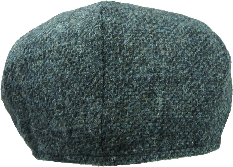 Blue 10649 Failsworth Newsboy Cap Shelby Cap Merino Tweed
