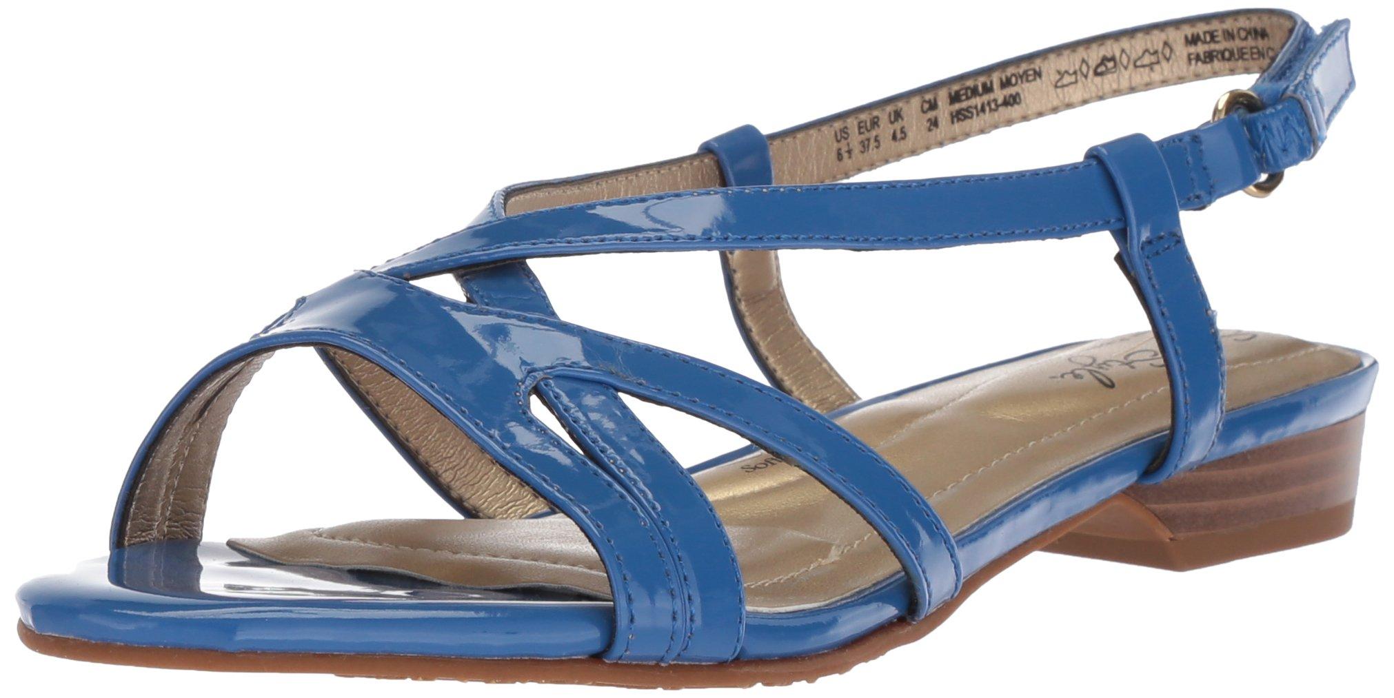 Soft Style by Hush Puppies Women's Maisy Sandal, Turkish Sea Patent, 09.5 M US