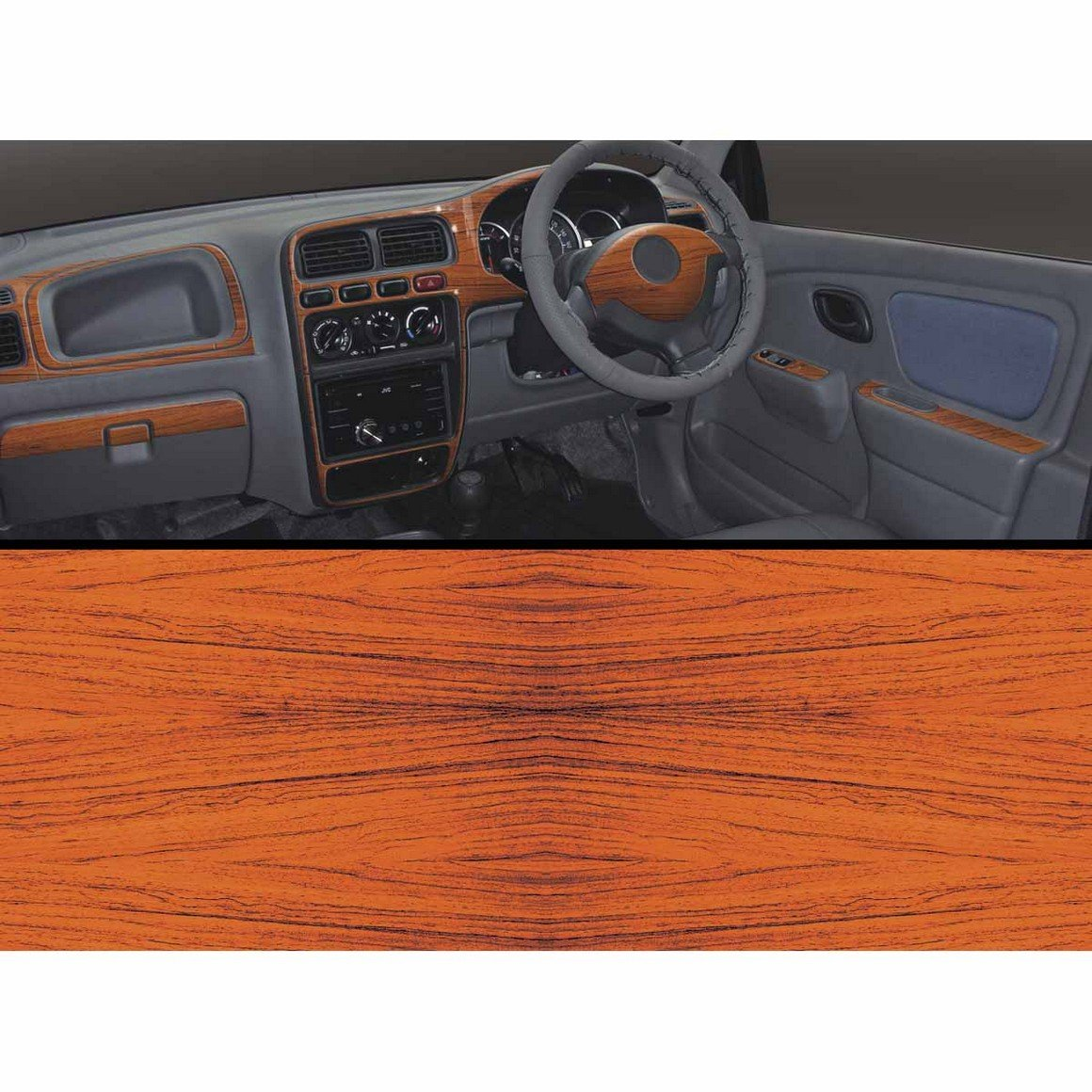 Autographix basic dashboard trims for maruti alto k10 vxi rosewood amazon in car motorbike