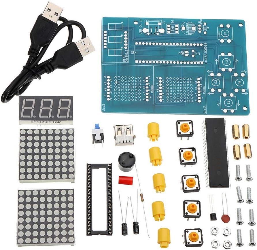 DIY Module Kit DIY Kit Play Game Design Board Module 51 SCM Chip Game Console Electronic Production DIY Circuit Board