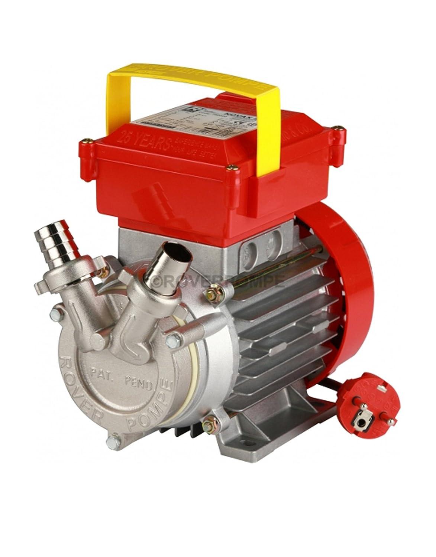 Rover pompe Novax 20 M Umfü ll-Elektropumpe, fü r Wein und Wasser, Edelstahl