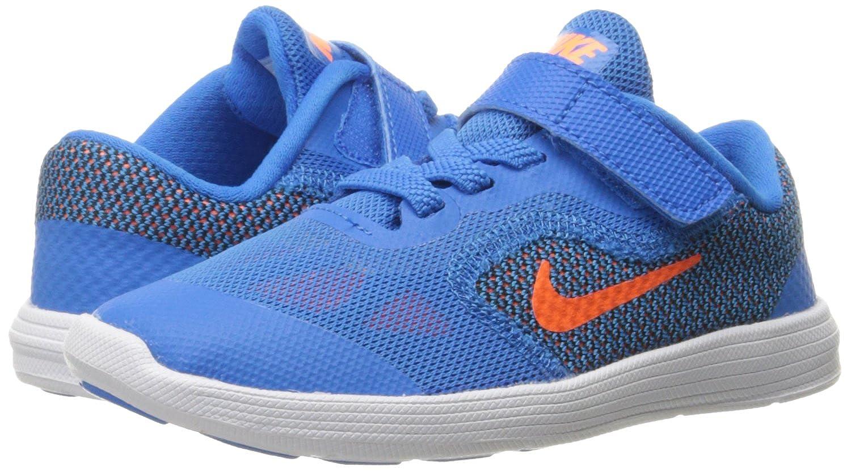 ac22c848f91002 NIKE Boys  Revolution 3 TDV Walking Baby Shoes Multicolor Size  5 ...