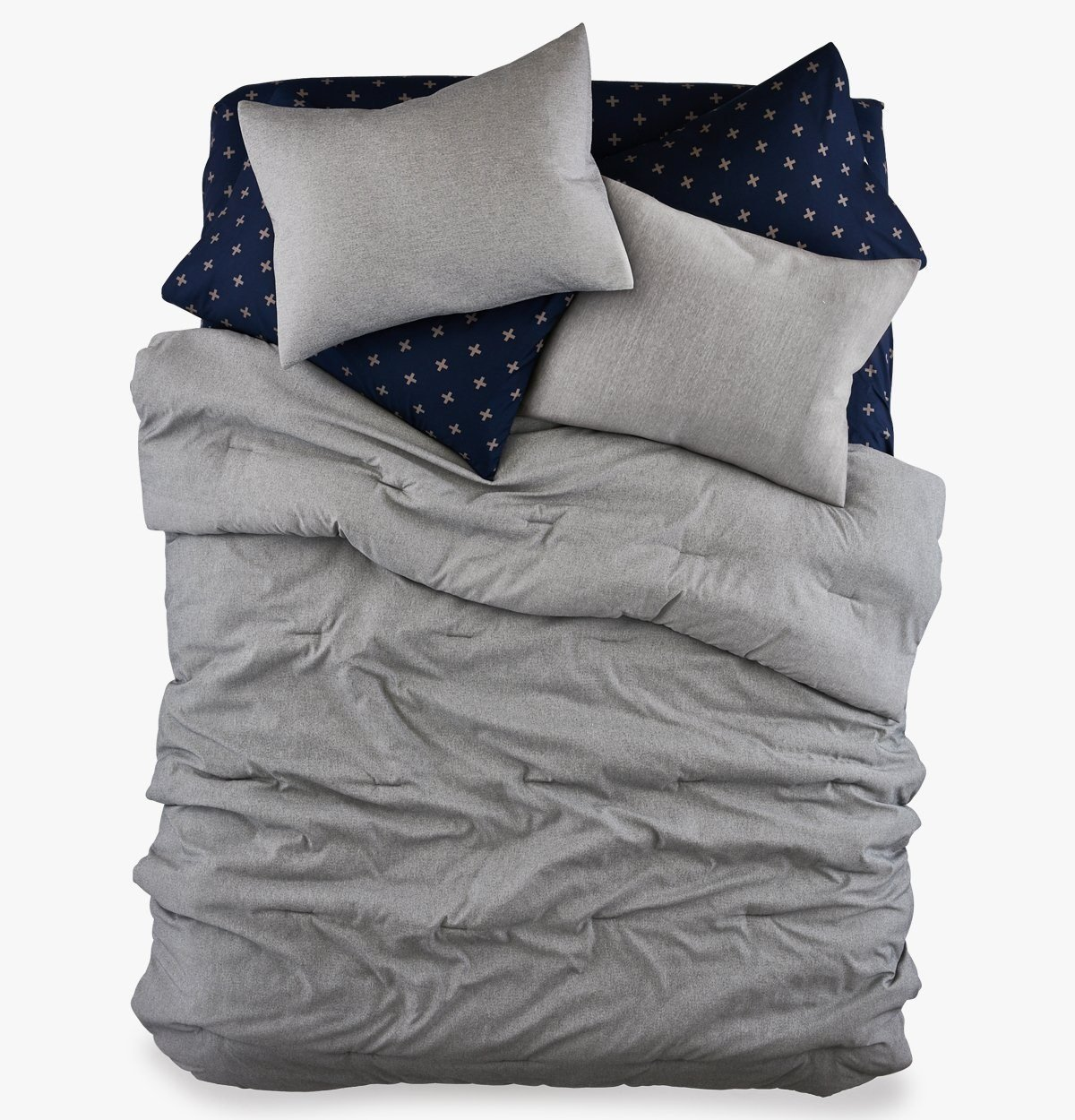 Roomify College Dorm Comforter - Chambray All Day - Twin XL