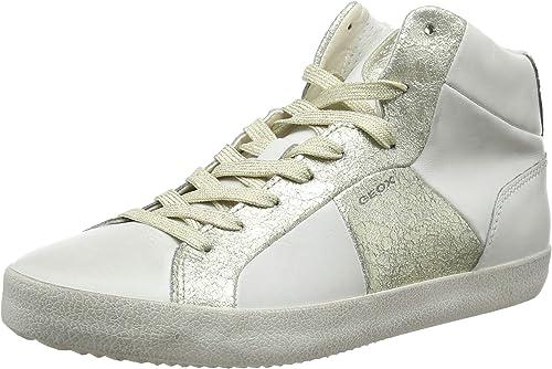 Geox D Warley B Sneaker a Collo Alto Donna amazon shoes