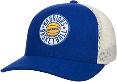 Mitchell & Ness Gorra Trucker HWC Patch 110 Golden State Warriors ...