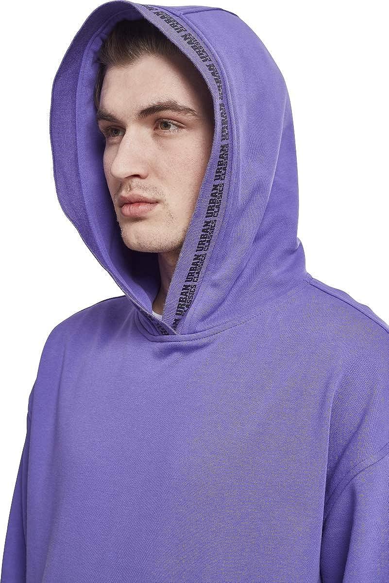 Urban Classics Oversize Logo Hoodie, Sudadera con Capucha para Hombre, Violett (Ultraviolet 01459), X-Large amazon el-negro Algodón
