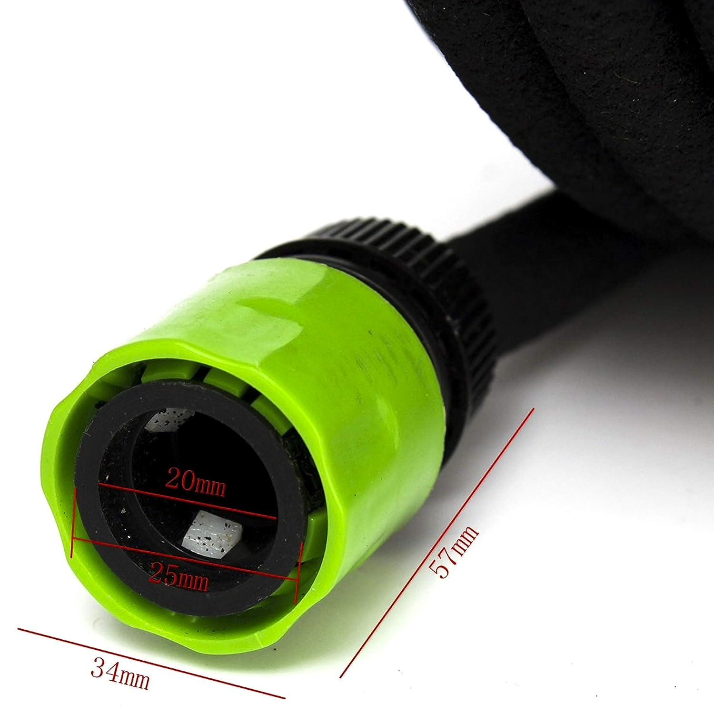 SHS 15m Bew/ässerungsschlauch Perlschlauch 1//2 Zwei Verbindungsst/ücke Ober 15m und Unterirdisch verlegbar Tropfschlauch inklusive Adapter f/ür Wasseranschluss