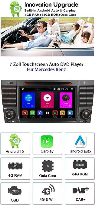 Android 9 0 8 Core 4gb 64gb Car Radio Dvd Gps Player Elektronik