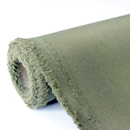 Waterproof Canvas Fabric Outdoor 600 Denier Indoor/Outdoor Fabric By The  Yard PU Backing UV