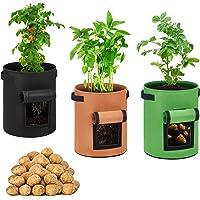 QEPOL Bolsa de siembra de Patatas Maceta de siembra de Batata Caja de siembra de maní Bolsa de nutrición Bolsa de Planta…