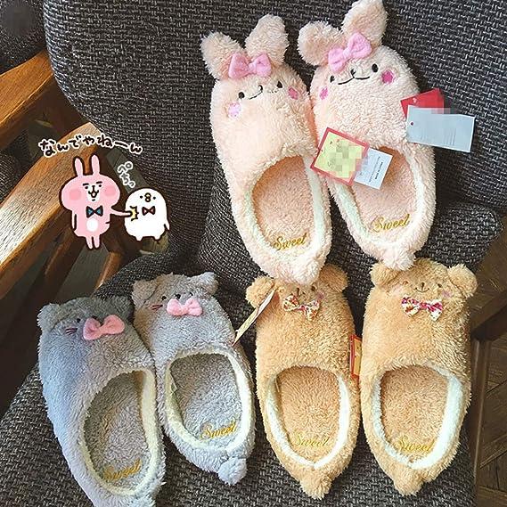Nafanio Fashion Women Spring Slippers Summer Autumn Home Plush Sandals Indoor Floor Luxury Flat Shoes