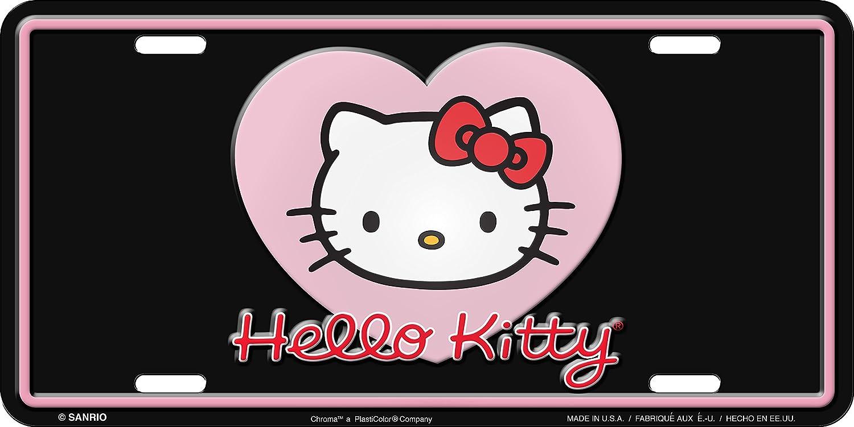 Chroma 001964 'Hello Kitty' Metal Tag License Plate