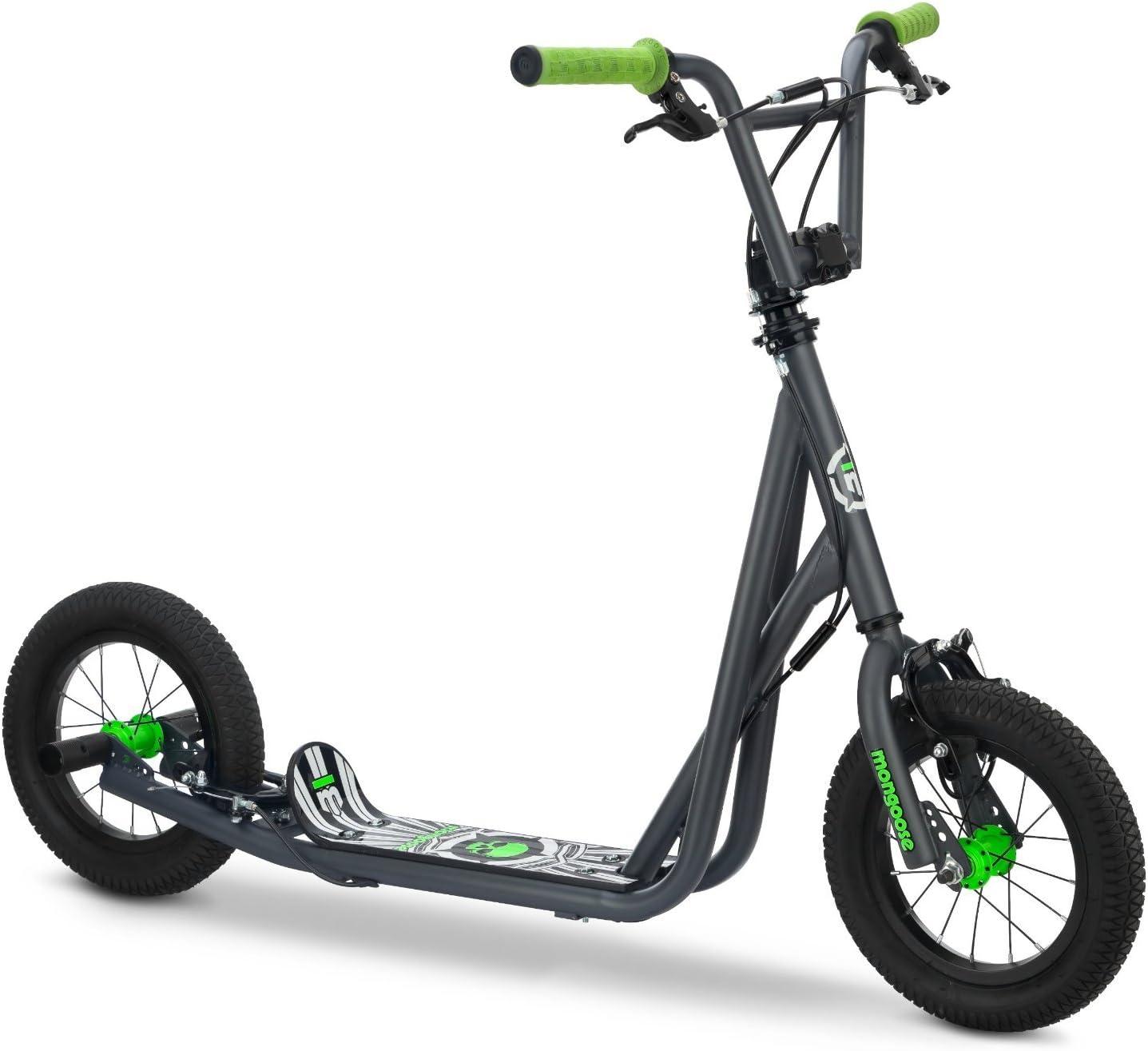 Mongoose Kid's Air Tire Scooter, グレー [並行輸入品]