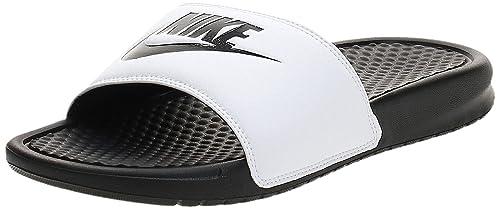 Buy Nike Benassi JDI Mens Sandals White