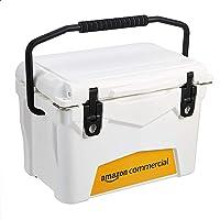 AmazonCommercial 20-Quart Rotomolded Cooler (White)