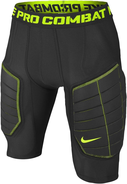 Artes literarias Malawi Pavimentación  Amazon.com : Nike Pro Combat Hyperstrong Elite Men's Compression Basketball  Shorts, Black/Volt, 3XL : Clothing