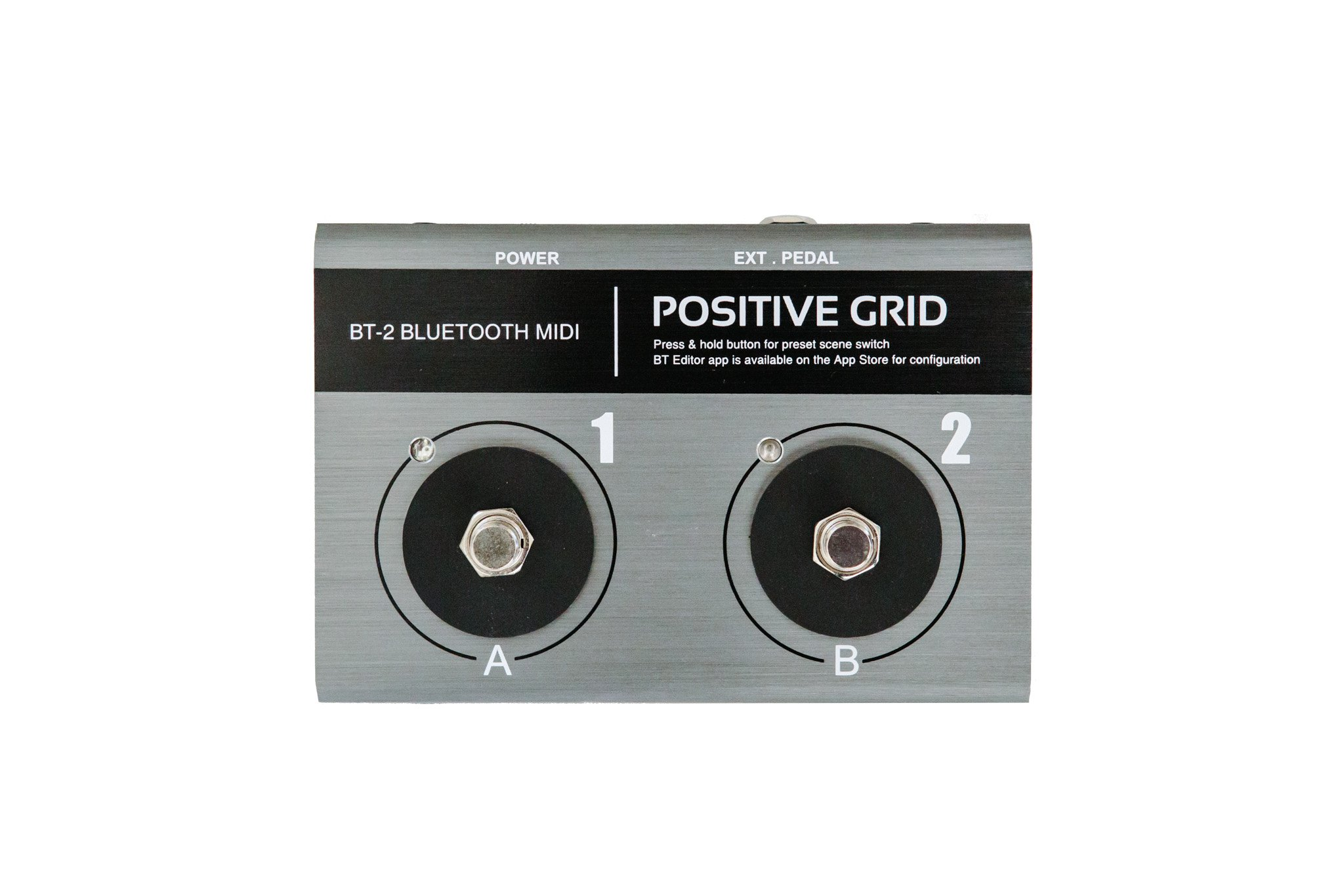 BT-2 Bluetooth MIDI Pedal by Positive Grid