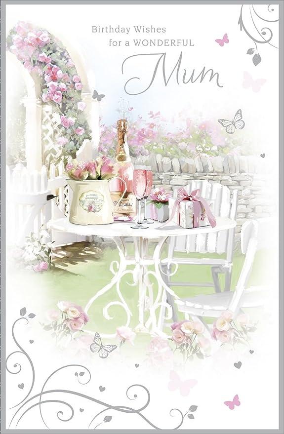 Cards Galore Online Tarjeta de Cumpleaños para Mamá - Mesa ...