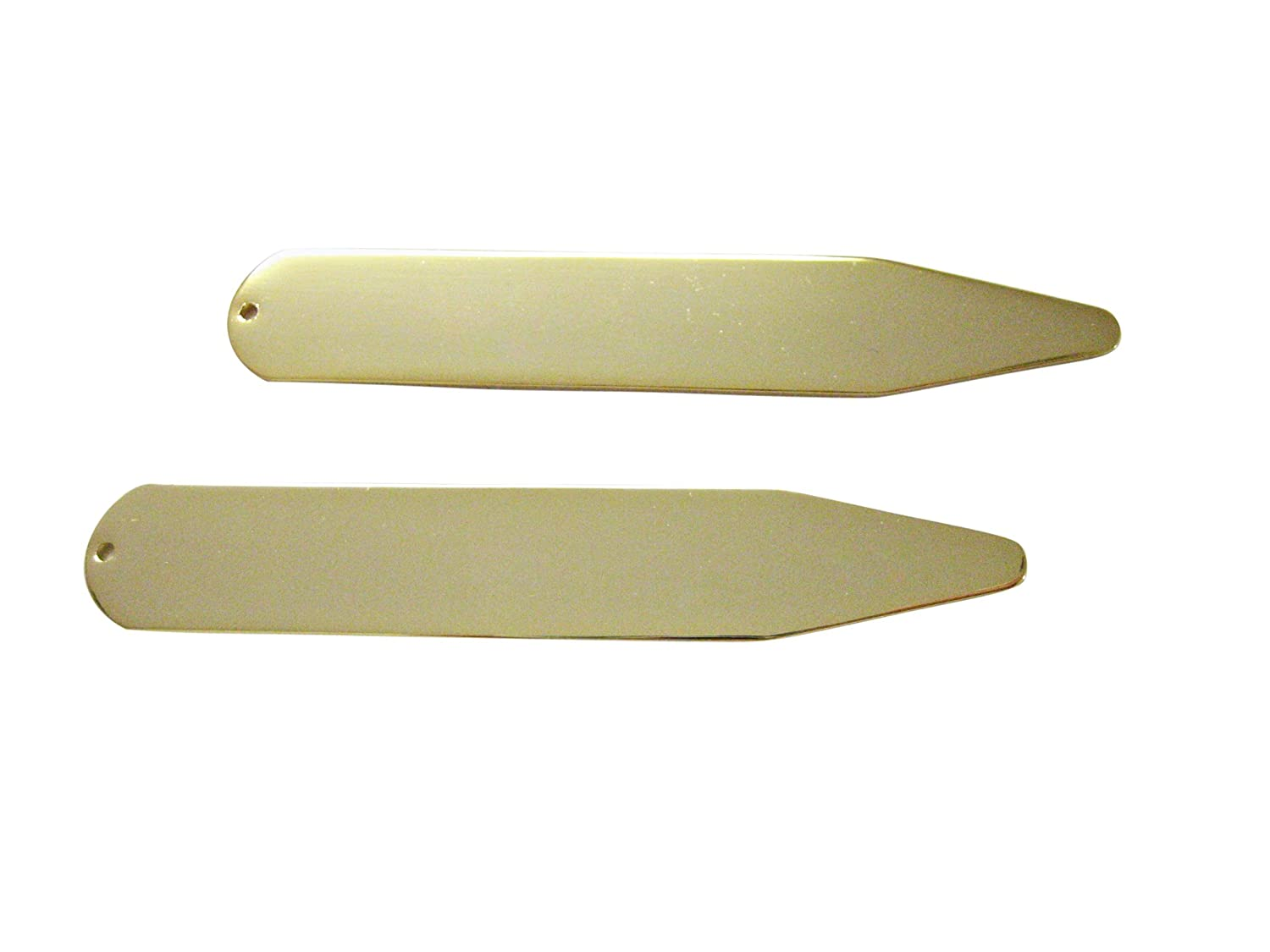 Gold Toned Collar Stays