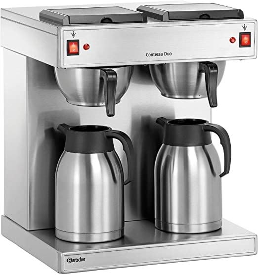 Bartscher doble Cafetera Eléctrica/estación de café Acero ...