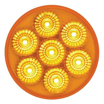 "Grand General 76620 Amber 2"" Low Profile Spyder 7-LED Marker/Clearance Light: Automotive"