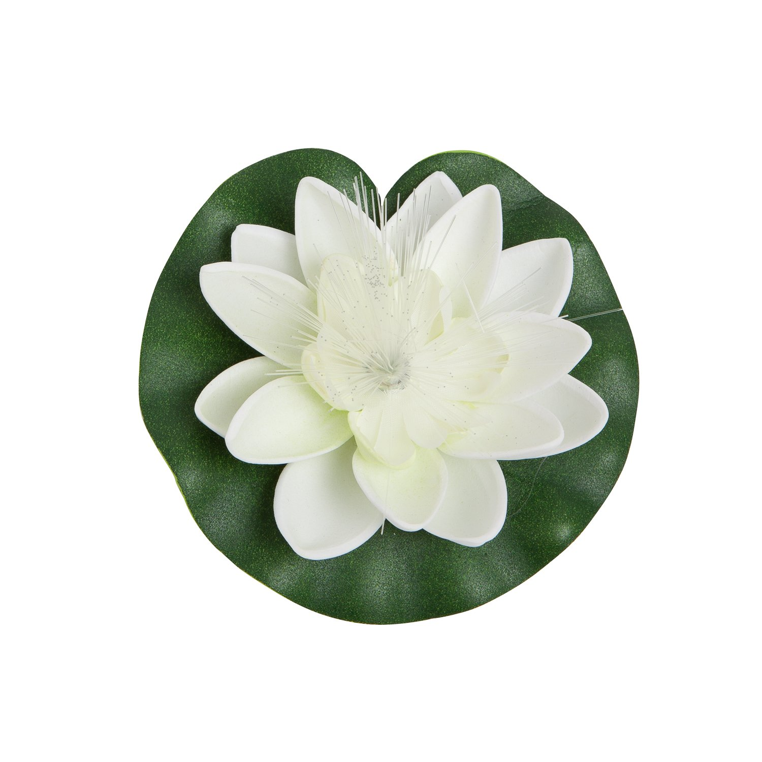 Amazon best floating flowers with lights set of 6 white amazon best floating flowers with lights set of 6 white lilies beautiful pool lights decorations for a wedding or other occasion realistic izmirmasajfo