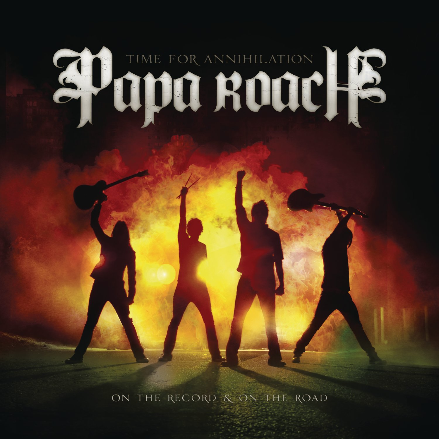 CD : Papa Roach - Time For Annihilation...On The Record and On The Road [Explicit Content] (CD)
