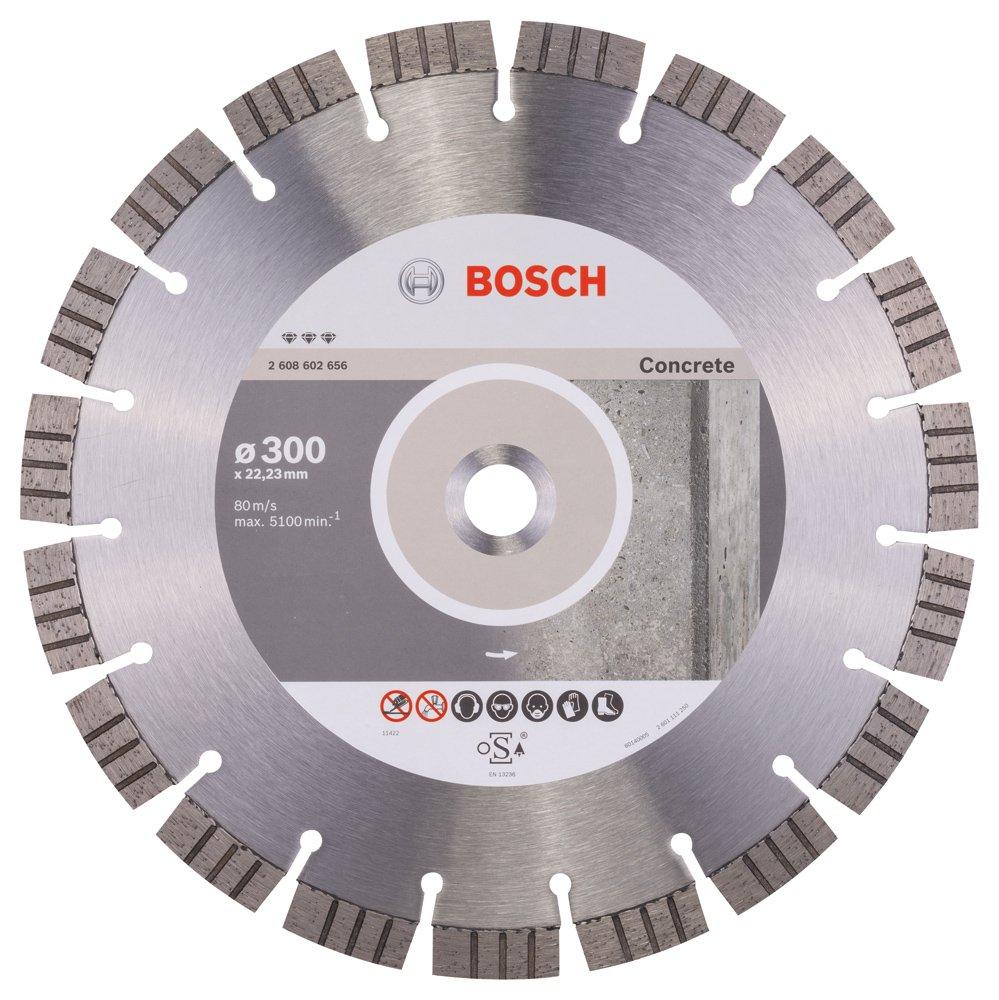 2608602656 BOSCH 300 X 22.3MM DIAMOND CUTTING DISC BEST CONCRETE