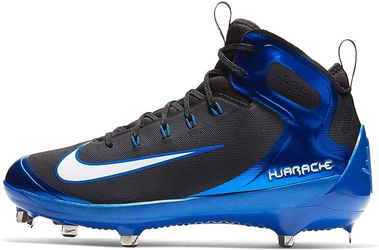nike huarache cleats blue