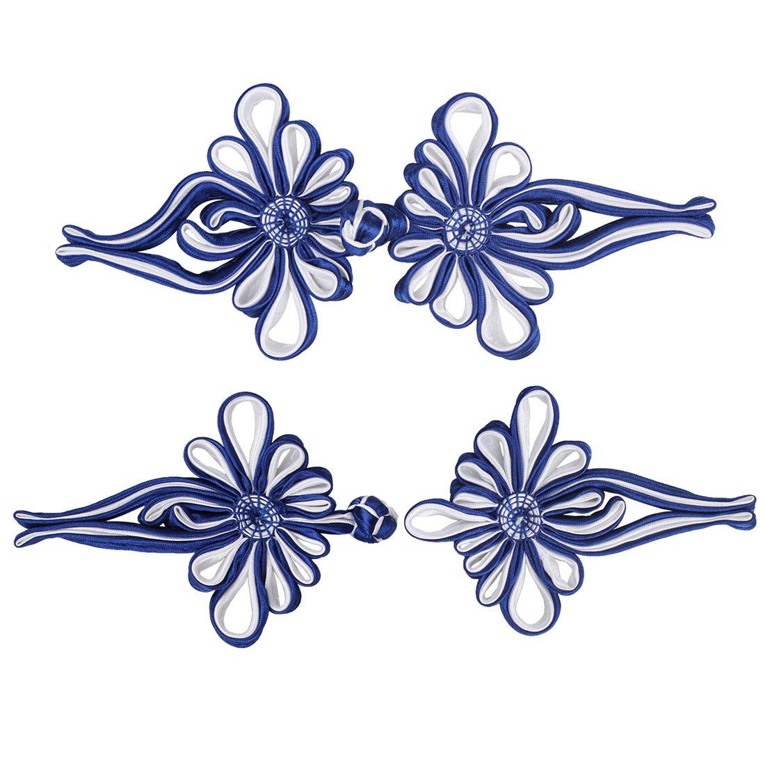 Amazon.de: larcele 2 Paar chinesische Muster Knoten Verschluss ...