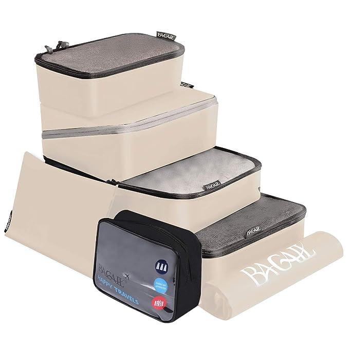 Amazon.com: BAGAIL Sistema de cubos de embalaje, 7 piezas ...