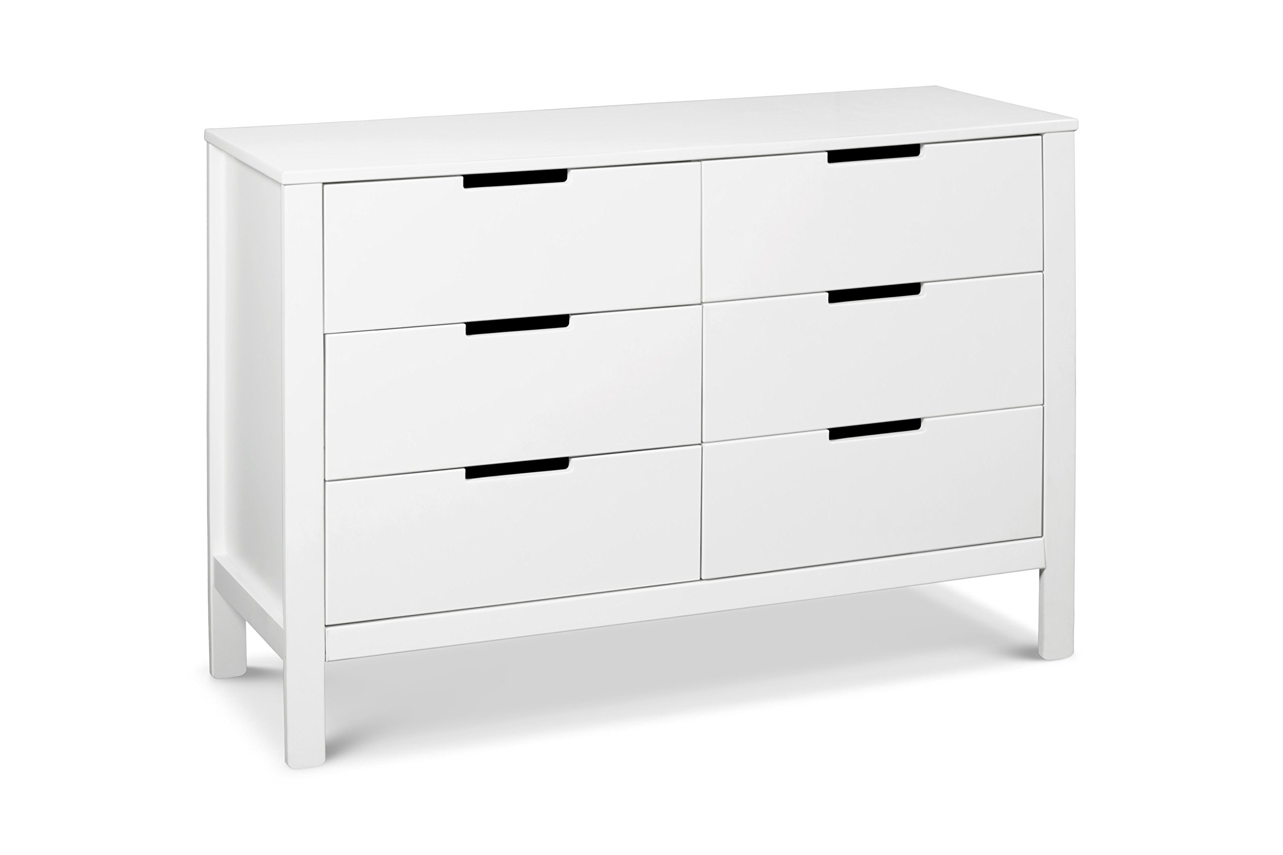 Carter's by DaVinci Colby 6-Drawer Double Dresser, White